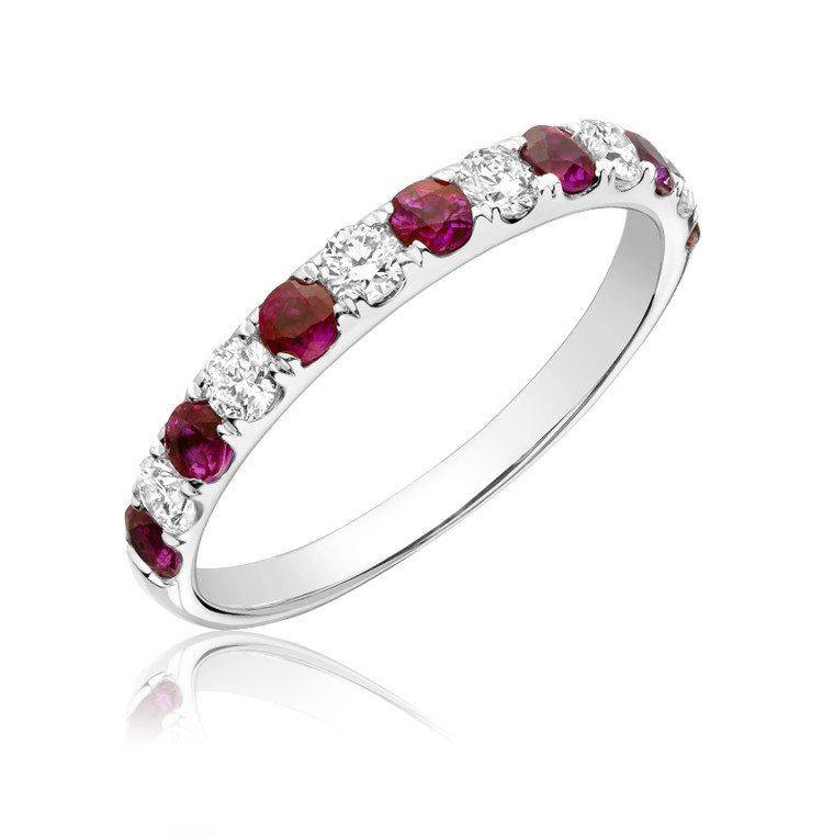 RUBY & DIAMOND RING  #02-040500RU