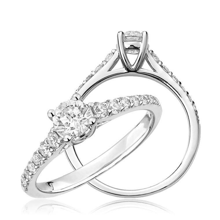 DIAMOND ENGAGEMENT RING  #02-04CLM35