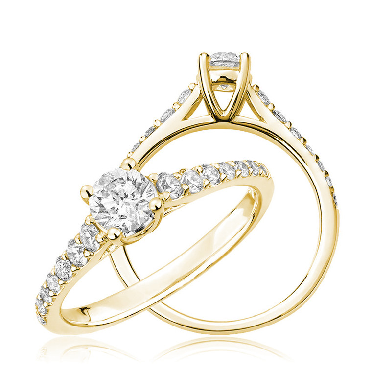 DIAMOND ENGAGEMENT RING  #02-04CLM35Y