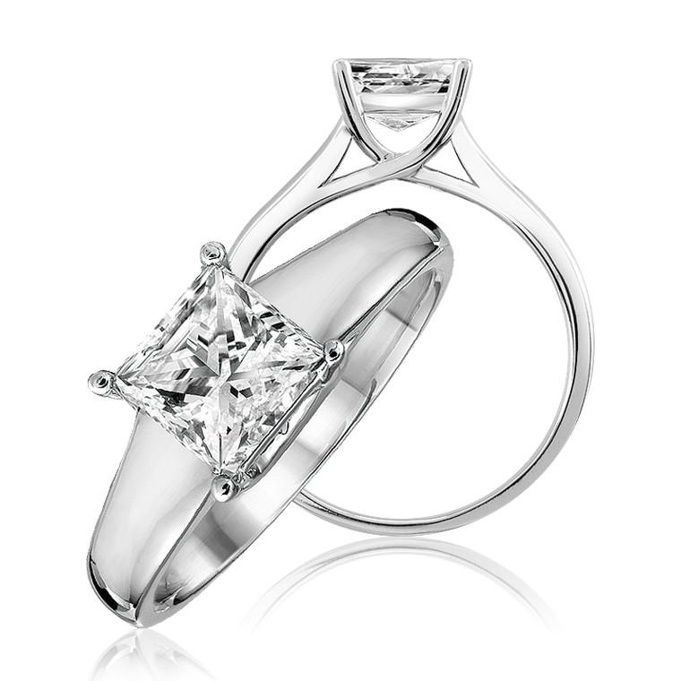 DIAMOND RING (SOLITAIRE) #02-04PR15