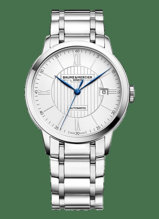 Baume Mercier Gents CLASSIMA, Automatic - Steel Bracelet