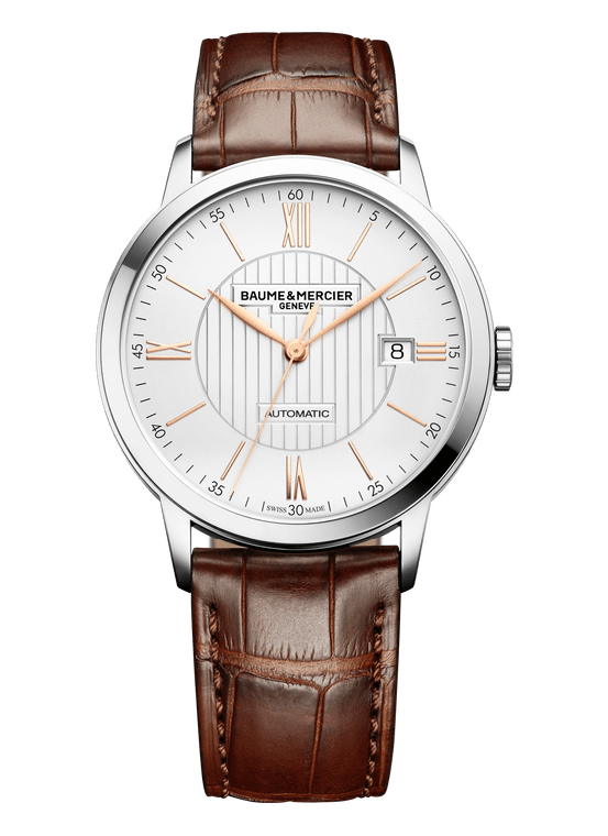 Baume Mercier Gents CLASSIMA, Automatic - Brown Leather