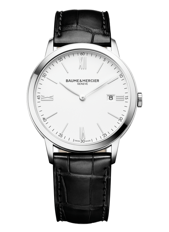 Baume Mercier Gents CLASSIMA, Quartz - White Dial