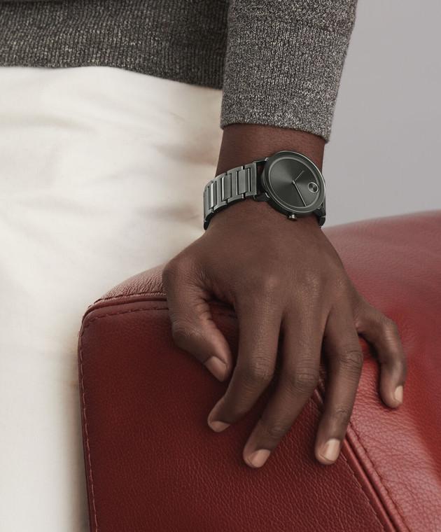 Large Movado BOLD Evolution watch, Grey