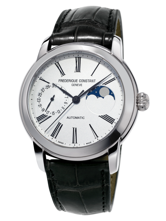 Frederique Constant CLASSIC MOONPHASE MANUFACTURE, STEEL