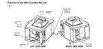 Wine Guardian 8K BTU Split System Wine Cellar Cooler (SS088) 208V
