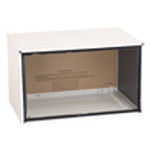 """PBWS01A Wall  Sleeve - Solid side 26""""  Metal, Beige, heavily insulated, includes weather board & stamped aluminum"""