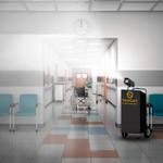 SaniCart Portable Sanitation Station for Hospital
