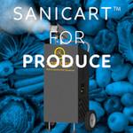 SaniCart Portable Sanitation Station for Produce