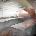 SaniCart Portable Sanitation Station for Meeting Room