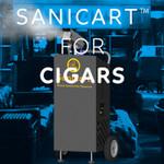 SaniCart Portable Sanitation Station for Cigars