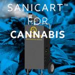 SaniCart Portable Sanitation Station for Cannabis