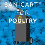 SaniCart Portable Sanitation Station for Poultry