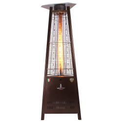 Lava Heat Italia Triangular 6 ft. Commercial Flame Patio Heater (LHI-106)