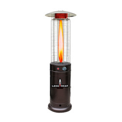 Lava Heat Italia Cylindrical 6 ft. Commercial Flame Patio Heater (LHI-117)