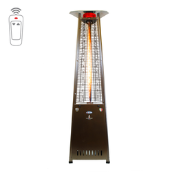 Lava Heat Italia Triangular 8 ft. Commercial Flame Patio Heater with Remote (LHI-129)