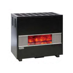 Williams GLASS FRONT VENTED ROOM CONSOLE 35K BTU Natural Gas Home Heater