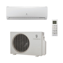 Friedrich M12CJ Mini Split Evaporator, Condenser and Wireless Remote