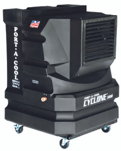 Portacool Cyclone 3000 Portable Evaporative Cooler - PAC2KCYC01