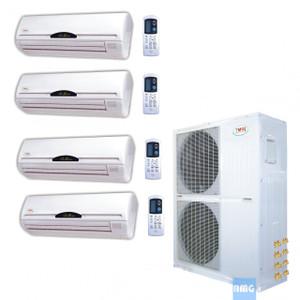 YMGI Quad Zone Mini Split Heat Pump