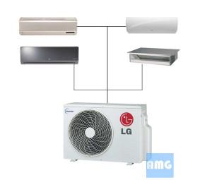 LG Mini Split Quad Zone