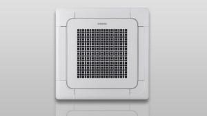 Samsung 4 Way Cassette Mini Split Heat Pump (AC048JN4DCH - 48K Btu)