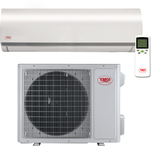 YMGI Symphony Solo Single Zone DC Inverter Mini Split Heat Pump 12K BTU