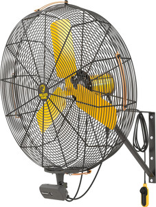 Big Ass Fans AirEye Portable Fan on Wall Mount