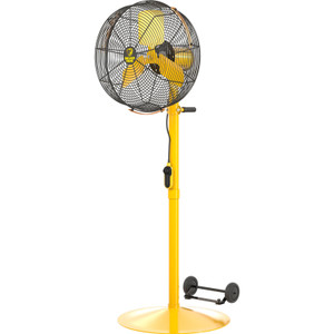 Big Ass Fans 30 Inch AirEye Portable Fan - Pedestal Mount
