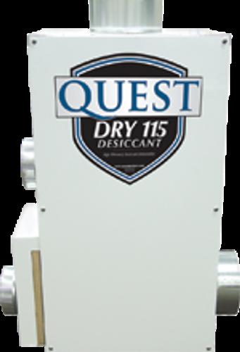 Quest Dry 115 desiccant dehumidifi