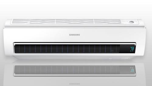 Samsung Whisper Smart WiFi Mini Split Heat Pump (AR09KSWSJWKNCV) - 9K Btu)