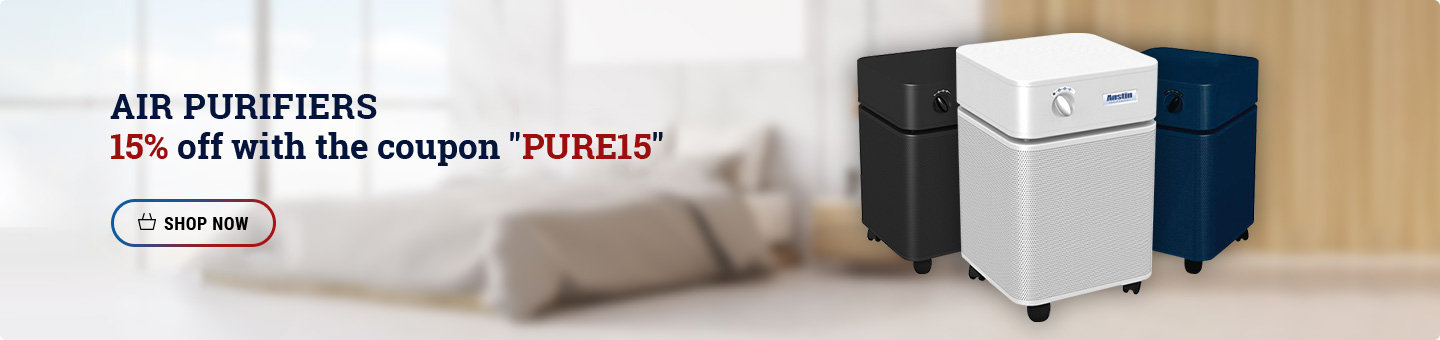 Austin Air Air Purifiers 15% Off