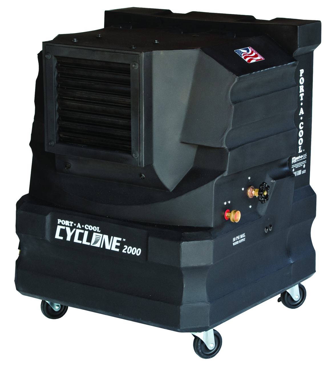 Port-A-Cool Cyclone 2000 Portable Evaporative Cooler - PACCYC02