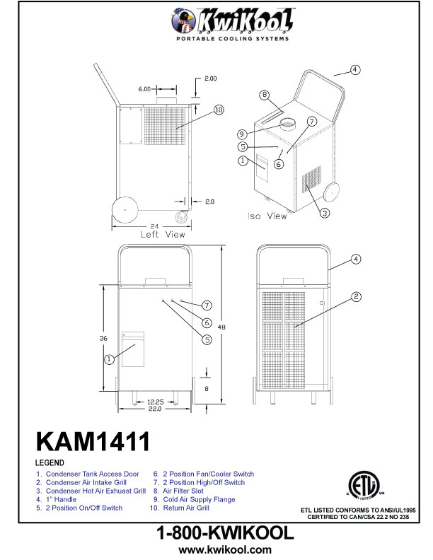 Air Conditioner Dimensions Drawings | Sante Blog