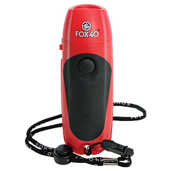 FOX 40 Electronic Whistle with Loop Lanyard