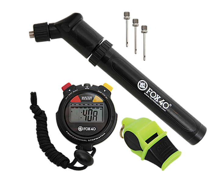 FOX 40 Sonik Blast Whistle and Stop Watch Pack