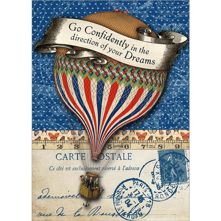 Confident Balloon Greeting Card