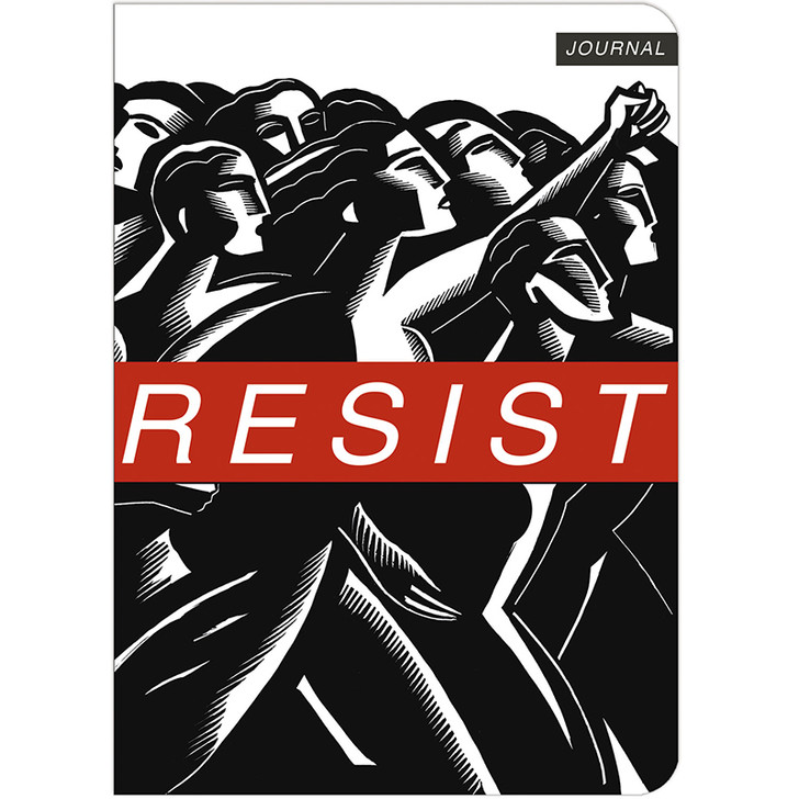 Resist Travel-Size Lined Journal