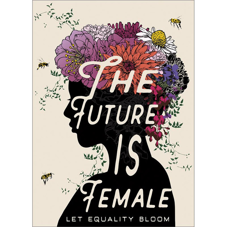 The Future Is Female Greeting Card