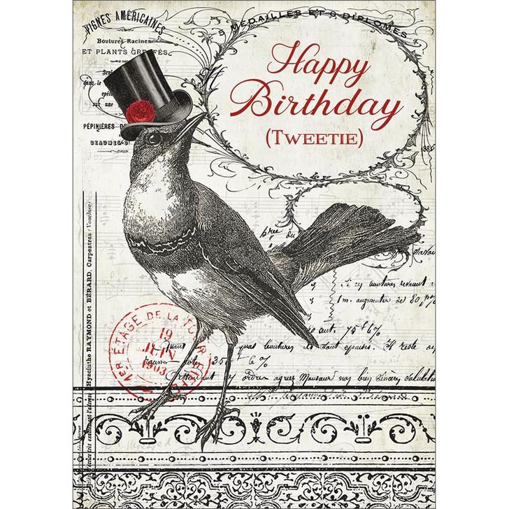 Tweetie Birthday Greeting Card