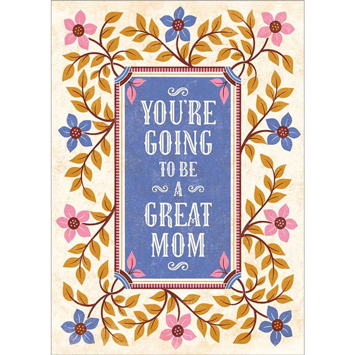 Great Mom Greeting Card