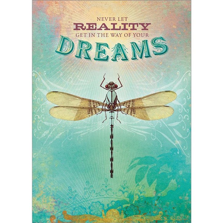 Reality Dreams Greeting Card