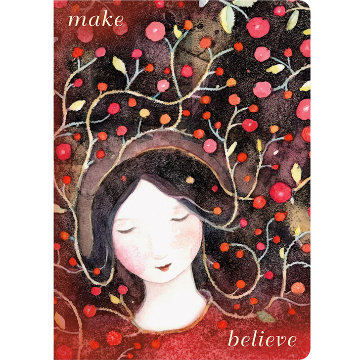 Make Believe Lined Travel-Size Journal