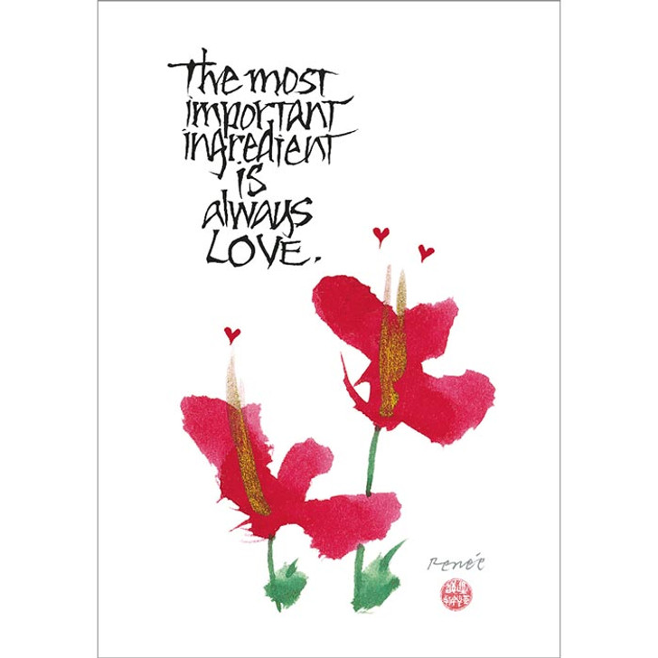 Most Important Ingredient Greeting Card