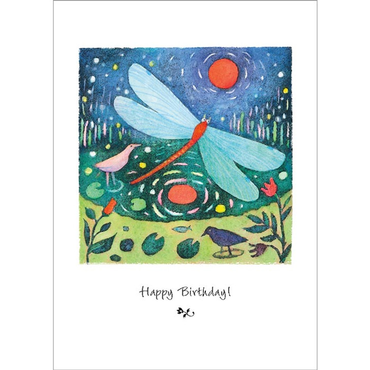 Dragonfly Day Greeting Card