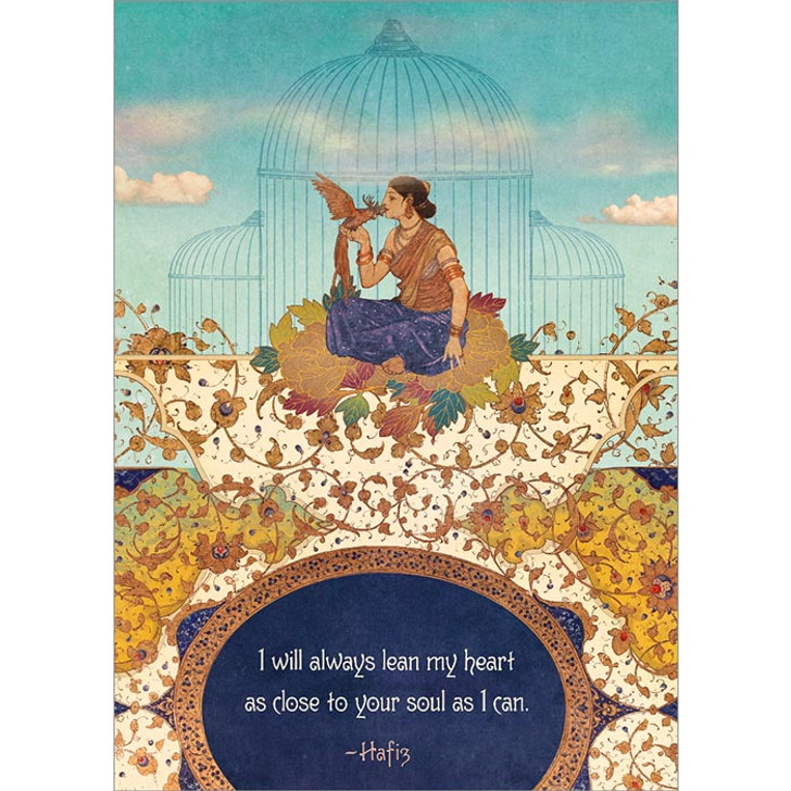 Close to Your Soul Greeting Card