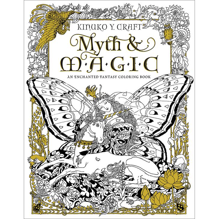 Myth & Magic Coloring Book by Kinuko Y. Craft