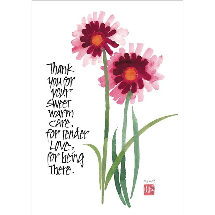 Sweet Warm Care Greeting Card