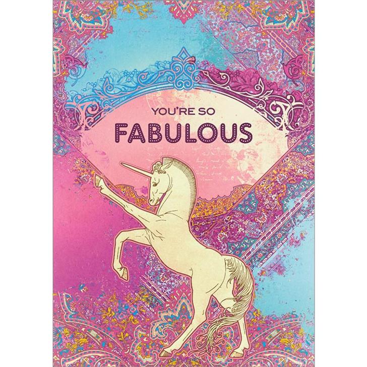 So Fabulous Greeting Card
