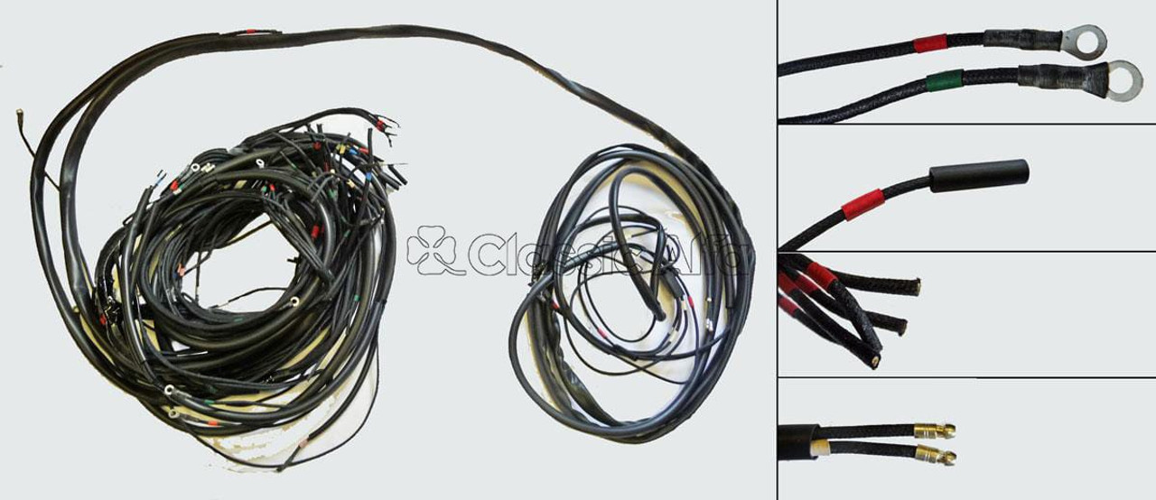 LOOM18 1750 mk1 GTV RHD WIRING LOOM on wood loom, direct-buried cable, cable loom, cable dressing, cable carrier, crazy loom, carpet loom, cable reel, multicore cable, cable management,